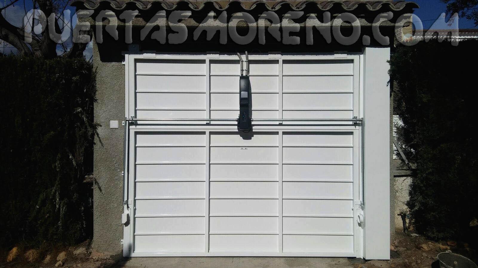 Automatismos para puertas puertas moreno for Automatismos para puertas
